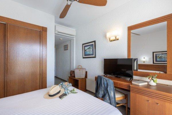 Chambre double avec climatisation