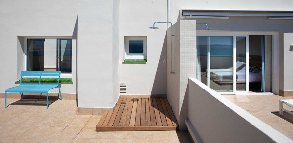 Penthouse Double Room with terrace